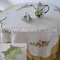 Cross Stitch Table Cloth